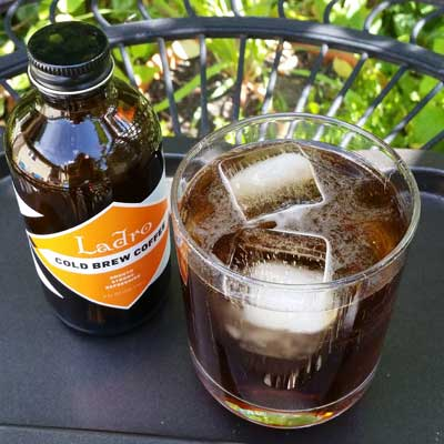Cold Brew Tonic and Summer Ladro Coffee Drinks