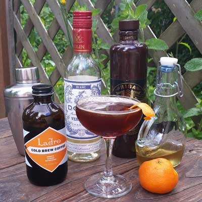 Sicilian Cocktail and Summer Ladro Coffee Drinks