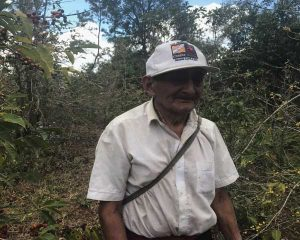 David, coffee picker at Finca Catalan on 2017 Guatemala coffee buying trip