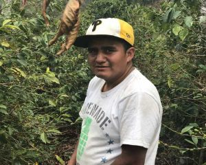 Miguel, coffee picker at Finca Catalan on 2017 Guatemala coffee buying trip