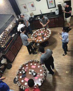 Unitrade 2017 Guatemala Coffee Buying Cupping