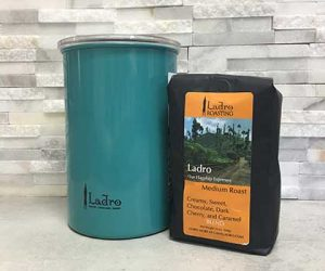 Store Coffee in a oqaque vacuum sealed container