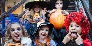 Seattle Halloween at Upper Queen Anne