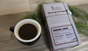 Sinergia Project Mocha Java, a high end post roast blend from Ladro Roasting