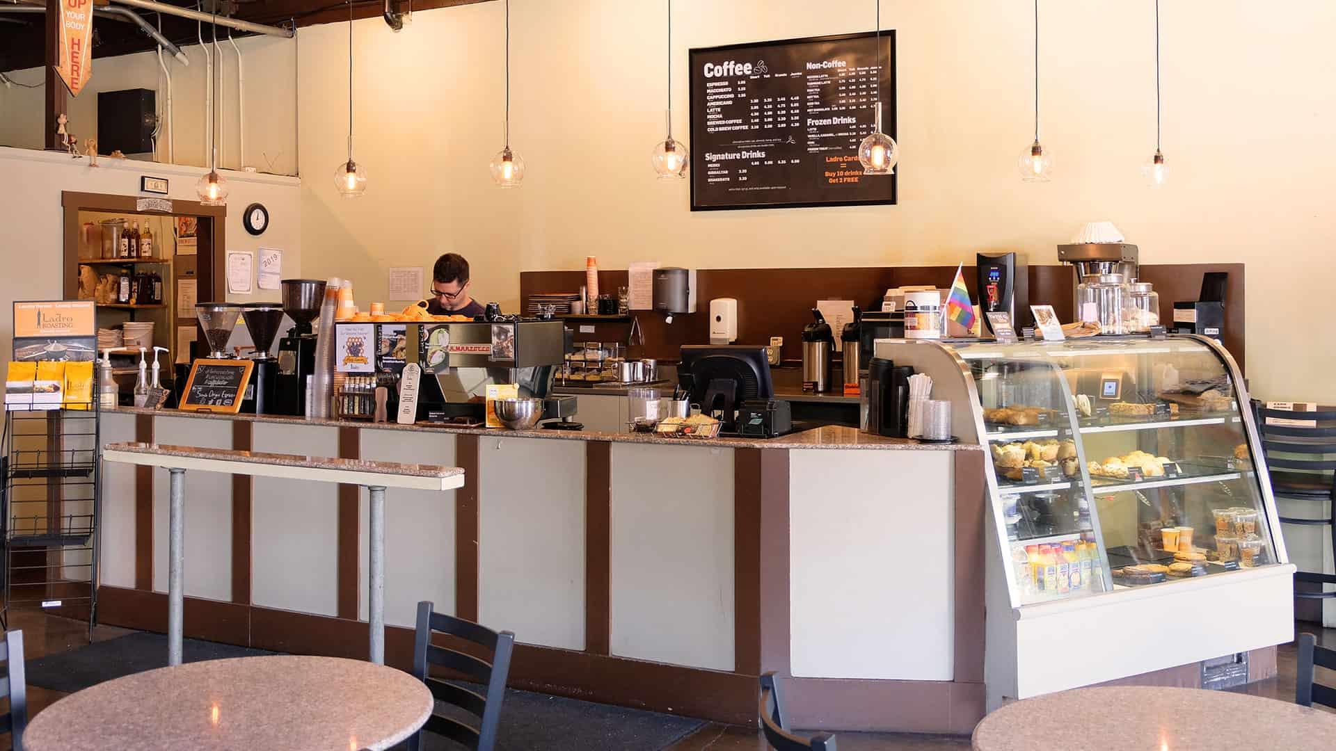 Fremont Caffe Ladro interior