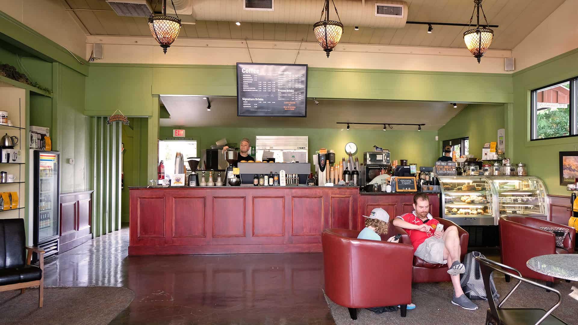 Bothell Caffe Ladro interior