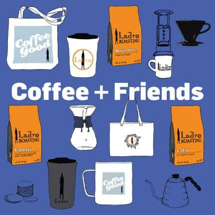 Coffee and Friends make the season bright with Ladro meet ups, coffee, and gifts