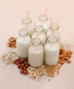 Alternative Milks used by baristas