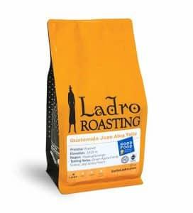 Good Food Awards 2020 Ladro coffee